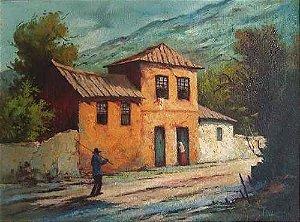 Arthur Figueiredo - Quadro, Pintura Óleo Sobre Tela Assinada, 1981