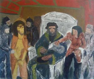 José Carlos Nogueira Da Gama - Quadro, Pintura Acrilica Sobre Eucatex