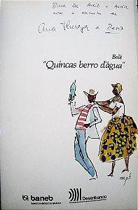 Carybé - Livro e Pintura Original Assinada,  Balé Quincas Berro D'água
