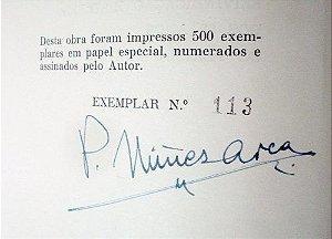 Livro Brasil Restituído - P. Nuñez Arca Autografado