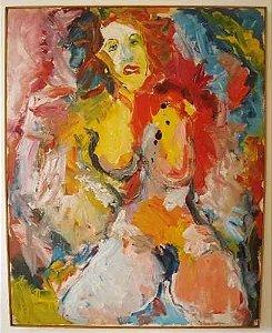 Luciano Lo Ré - Quadro, Pintura Ost, Com Certificado