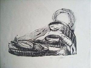 João Rossi - Gravura, Litografia Assinada, Prova de Artista