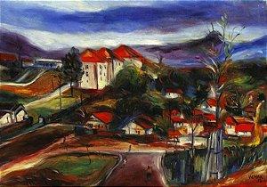 Vilmar Rodrigues - Pintura Ost - Assinado e Datado 1978