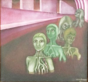 Wilma Lacerda - Pintura Óleo Sobre Tela, Mulheres, Assinado