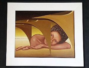 Wilma Lacerda - Quadro, Pintura Ost, Brasilia, Assinado
