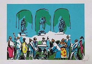 Carybé - Gravura, Serigrafia Original Assinada - Museu