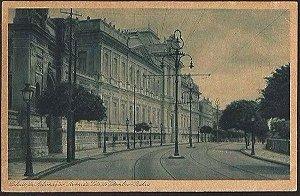 Bahia - Palácio Aclamação, Av. Sete de Setembro - Cartão Postal Antigo Original