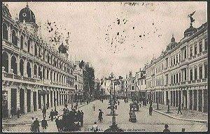 Rio De Janeiro - Photo Malta - Avenida Central - Cartão Postal Antigo Original, Tipográfico