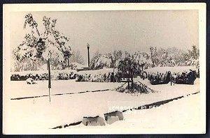 Rio Grande Sul - Passo Fundo, Lembrança Da Neve, Cartão Postal Antigo, Fotográfico