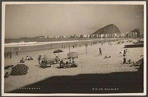 Rio De Janeiro - Copacabana - Fotografia Antiga, Cartão Postal Original