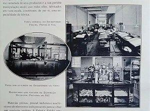 Livro O Estado De São Paulo, 2 Grandes Volumes 1918, Editado por Monte Domecq