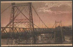 Rio De Janeiro - Ponte Alexandrino De Alencar, Cartão Postal Antigo Original, Tipográfico