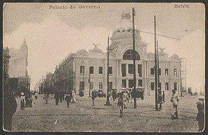 Bahia - Palácio Do Governo - Cartão Postal Antigo Original, Tipográfico