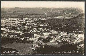 Espirito Santo - Vitória e Vila Velha - Vista Aérea, Cartão Postal Fotográfico Antigo
