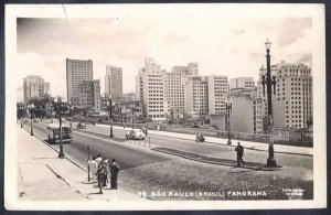 São Paulo -  Cartão Postal Fotográfico Antigo Original, Edição Colombo