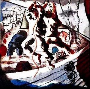 Portinari - Azulejo Decorativo com Imagem de Obra Do Artista