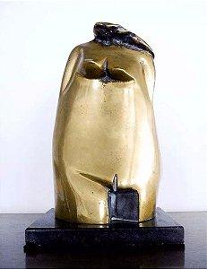 Beth Turkieniez - Escultura Em Bronze Figurativo Feminino Abstrato