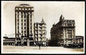 São Paulo - Cartão Postal Antigo Original, Largo Sé com Carros