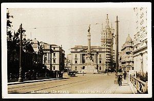 São Paulo - Cartão Postal Antigo Original, Largo Do Palácio