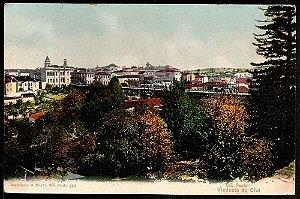 São Paulo - Cartão Postal Antigo Original - Panorama E Viaduto Do Chá