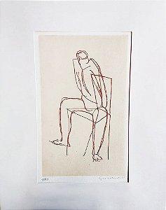 Clóvis Graciano - Quadro,  Arte em Gravura Água Forte, Assinada
