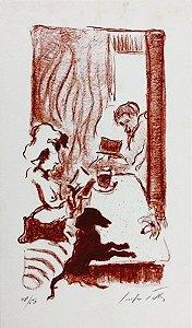 Sergio Telles - Arte em Gravura Assinada e Numerada, Companheirismo