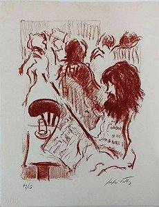 Sergio Telles - Arte em Gravura Assinada e Numerada, Leitura