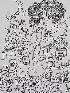 Arte em Gravura Original Assinada e Numerada, Imagem de São Francisco de Assis