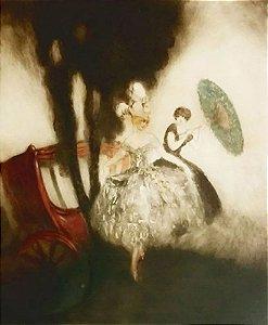 Louis Icart, Renomado Gravador Francês - Arte em Gravura Original, Assinada