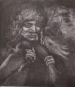 Arte em Gravura Original, Assinada e Numerada, D'apres Dürer