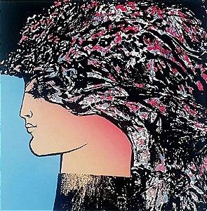 Augusto Rodrigues - Arte em Gravura Assinada, Perfil Feminino