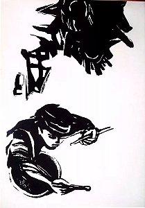 Brecht / Gerson Knispel - Temática Judaica, Portfólio com 24 Gravuras Originais Assinadas