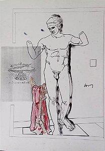 Wesley Duke Lee - Arte em Estampa, Gravura de Apolo, Leonardo da Vinci
