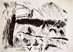 Denyse - Recanto, Arte em Gravura Assinada, Natureza, Prova de Impressão