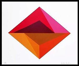 Paula Kadunc - Arte em Gravura Original Assinada, Geométrico