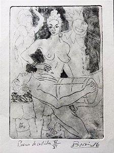 Boris Arrivabene - Arte em Gravura, Carnaval, Temática Erótica