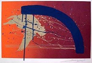 Gilberto Salvador - Arte em Gravura Assinada, Abstrato