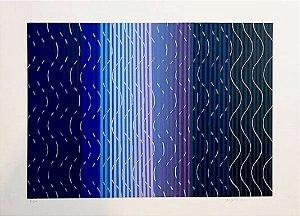 Yutaka Toyota - Arte em Gravura, Composição Cinética