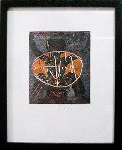 Quadro - Arte em Gravura Assinada e Numerada, 1983