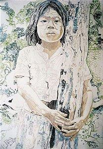 Sepp Baendereck -  Arte em Gravura Assinada, Datada de 1977