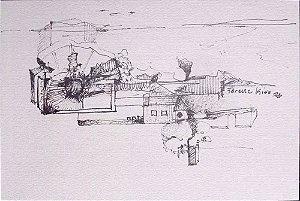 Ferenc Kiss - Quadro, Arte em Gravura Original Assinada, Emoldurada