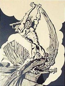 Sigaud - Arte em Gravura Assinada Prova de Artista, de 1974