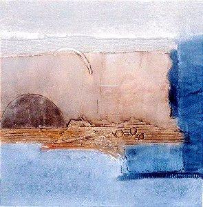 Patricia Kaufmann - Quadro, Arte em Gravura Original, Colografia, Paisagem