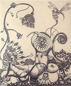 Babinski - Quadro, Arte em Gravura Original, Assinada e Numerada