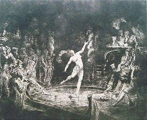 Salomé - Arte em Gravura Assinada e Numerada, Arte Européia Antiga
