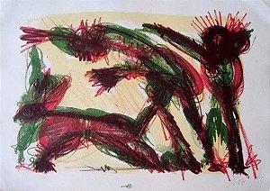 Ivald Granato Filho -  Arte em Gravura, P/E, Assinada, de 1991