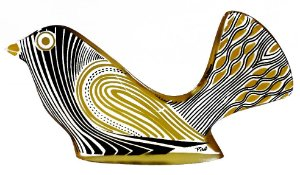 Palatnik - Escultura Em Acrílico Pássaro Arte