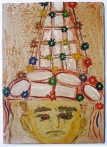Jacob Kopel Rissin - Quadro, Arte em Pintura, Técnica Mista sobre Eucatex
