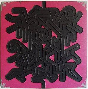 Jorge Medeiros - Quadro, Arte em Pintura, Técnica Mista sobre Tela, Labirinto, de 2008