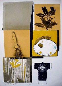 Bernardo Kranianski - Arte em Gravura Original, Assinada e Numerada, de 1989